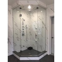 Quality Enclosures, Inc. image | Neo Angle Frameless Unit