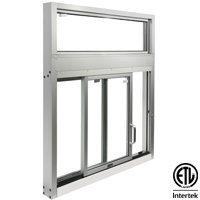 Side Sliding Window with Transom  image