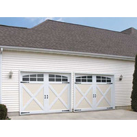 Polyurethane Steel Carriage House Doors image