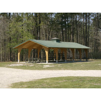 Laminated Wood Shelters image
