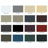 26 ga. Metal Roof Colors image
