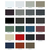 24 ga. Metal Roof Colors image