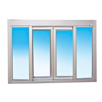 Bi-Parting Sliding Window with Transom image