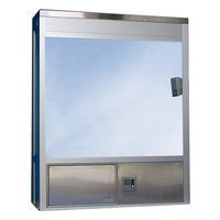 604 Bump Out Fixed Window with Service Drawer image