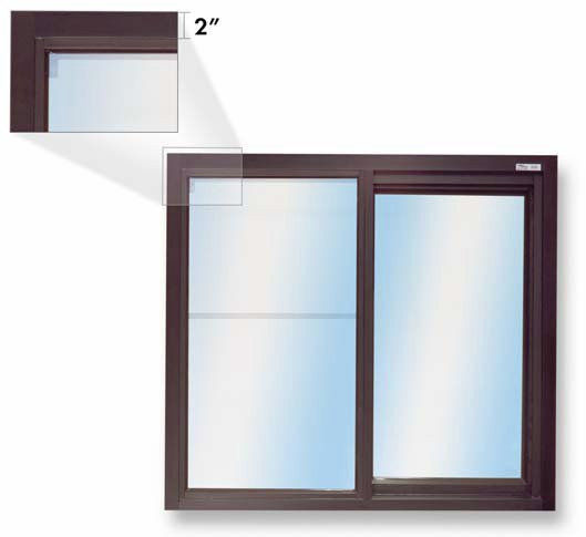 275 Single Panel Slider with Low Profile Header