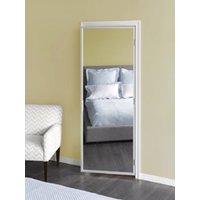 Slimfold® Series 4175 Double-Sided Mirror Door with Pre-Hung Aluminum Frame image