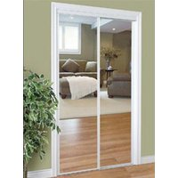 Slimfold® Series 2020 Bypass - Wide Stile Mirror Closet Door image