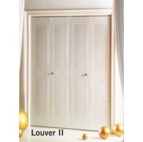 Dunbarton Corporation image | Slimfold® Louver II Steel Bifold Closet Door