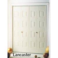 Dunbarton Corporation image | Slimfold® Lancaster Steel Bifold Closet Door