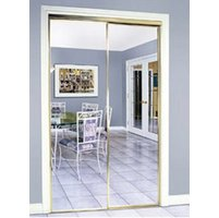 Slimfold® Series 4260 Bypass Mirror Closet Door image