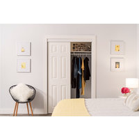 Bypass Closet Doors:  Georgian 6 Panel Design image