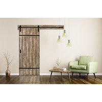 Authentic Barn Door with Easy Glide Soft Close - Engineered Wood Barn Doors image