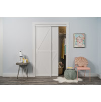 Bypass Closet Doors: Trident Double-K Design image