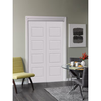 Bypass Closet Doors:  Galloway 4 Panel Design image