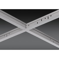 """15/16"""" Stainless Steel Exposed Grid Ceiling System image"""