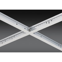 """15/16"""" Aluminum Cap Exposed, Fire Rated Grid Ceiling System image"""