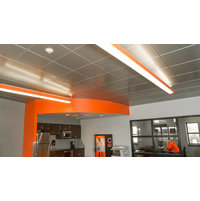 Snap-in Metal Panel Ceiling System image