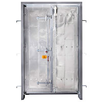 Security doors and frames for Insulgard security products