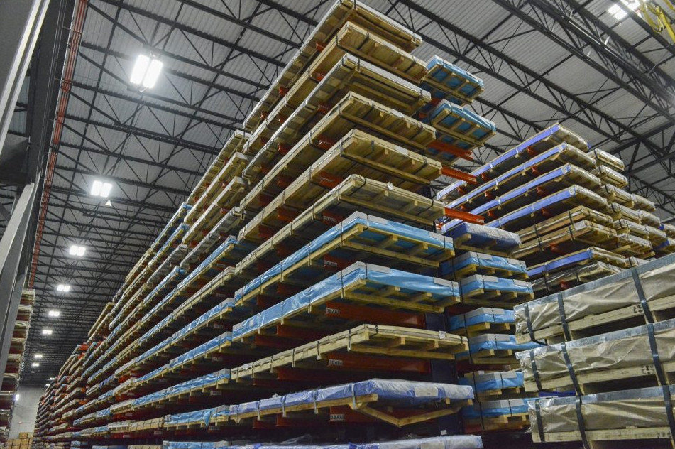 Dexco® Structural I-Beam Cantilever Rack Systems