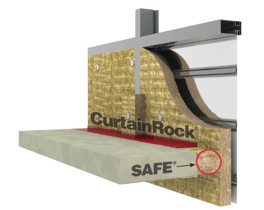 Roxul inc stone wool insulation products for Fire rated batt insulation