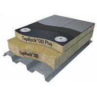 Rigid, Dual Density Mineral Wool Board Insulation image