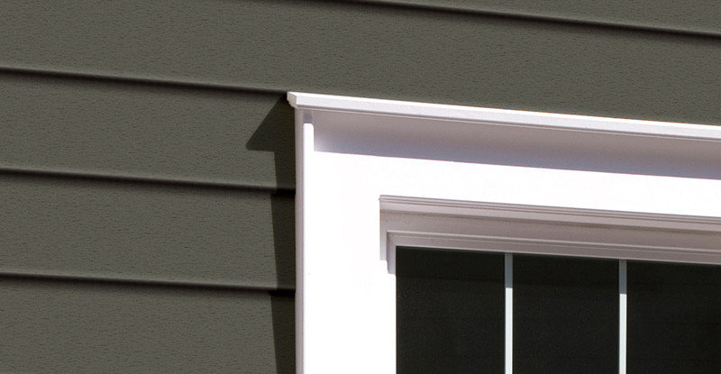 Royal building products siding trim board siding and for Moulure exterieur maison