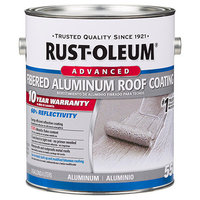 10 Year Fibered Aluminum Roof Coating image