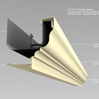 Designer Series Extruded Gutters image