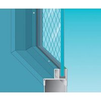 20-90 Minute Fire Protective Safety Wired Glass image