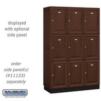 Solid Oak Executive Lockers image