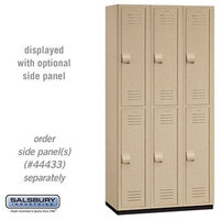 "Heavy Duty Plastic Lockers - 12"" W image"