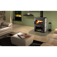 Wood Stove with Blower image