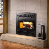 Wood Fireplace image