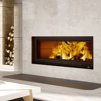 Decorative Linear Wood Fireplaces  image