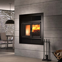 Decorative Wood Fireplace image