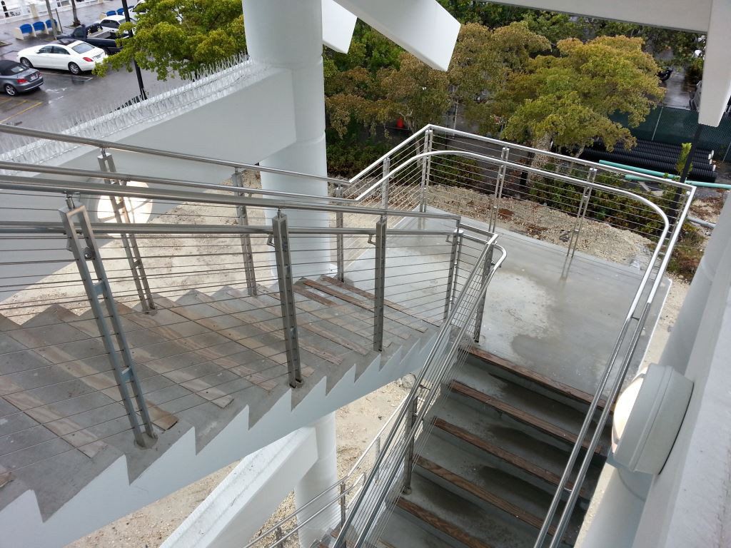 Stainless Steel Cable Handrail