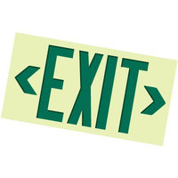 Photo-luminescent Fire & Exit Signs image