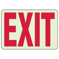 Luminous Exit and Path Marker Signs image