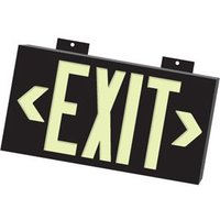 Photo-luminescent Exit Signs image