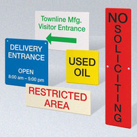Facilities Signage: SIGNS For Your Facility, Municipality or Job Site Requirements image