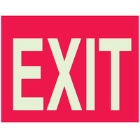 Fire, Exit & Evacuation Signs image