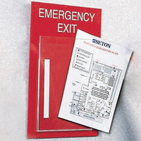 Emergency Evacuation Insert Frames image