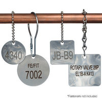 Stainless Steel Valve Tags image