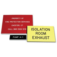Custom Engraved Phenolic Plastic Nameplates image