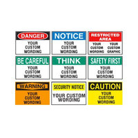 Custom OSHA Signs image
