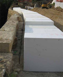 Shelter Retaining Walls