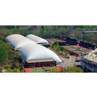 Beijing Tennis Center Relies on Shelter-Rite to Protect Courts image