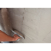 Scratch & Brown Fiber Reinforced Stucco  image