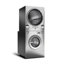 Stacked Washer-Extractor/Tumble Dryers image