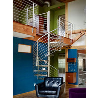 Stainless Steel Stairs image